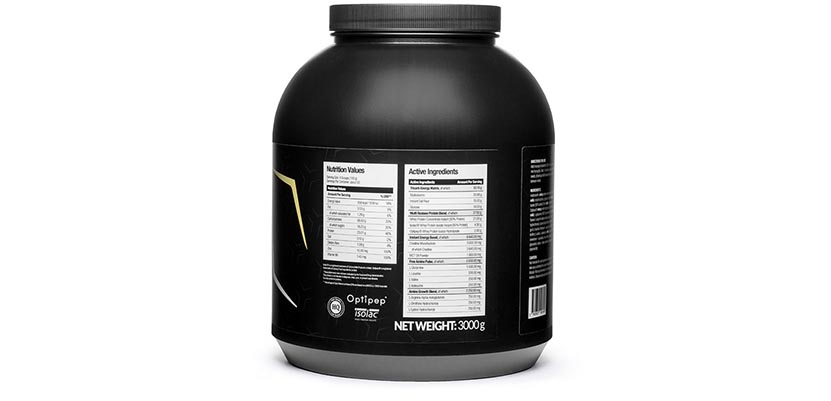 Nutrigo Lab Mass Composition